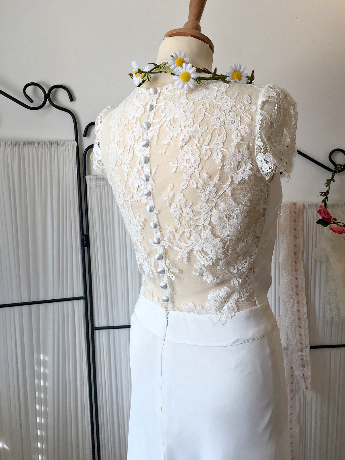 French lace boho