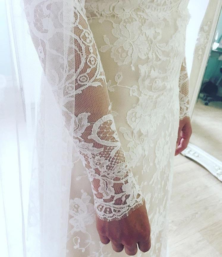 Long sleeve lace boho