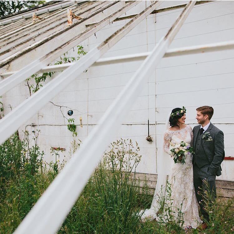 lace wedding dress designer